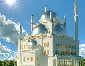 mosque of Mohamed Ali in Egypt 3D model