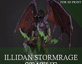 warcraft illidan Stormrage for 3d print