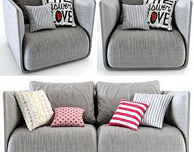 3D Max sofa modern