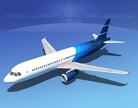 3D model Airbus A320 LP Corporate 1