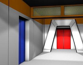 USS Enterprise Gangway 3D