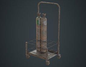 Gas Cylinder 3D realtime