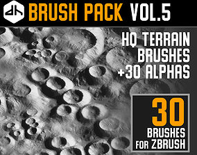 3D model Brush Pack Vol 5