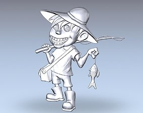 3D Model of Fisherman