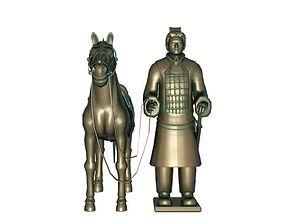 3D model Cavalry Terracotta