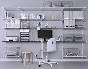 Office 3D books