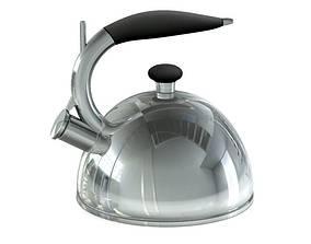 Modern Metal Dome Tea Kettle 3D model