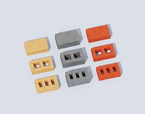 3D model Voxel Bricks