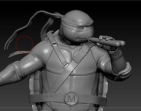 Michealangelo from TMNT 3D printable model
