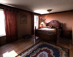 3D Bedroom inside