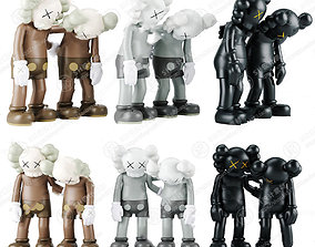 Kaws doll Quantity 18 3D print model