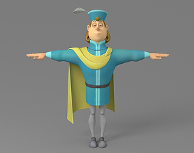 Cartoon prince 3D