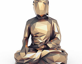 Buddha 1 Low Poly 3D model