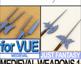 Medieval Weapon Collection Vol 1 3D