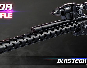 DLT-20A laser rifle dtl20a 3D print model