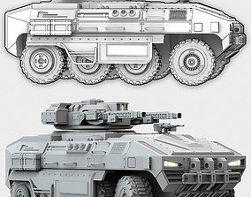 3D model APC Military Support Vehicle