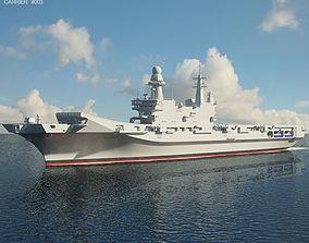 Cavour aircraft carrier 3D
