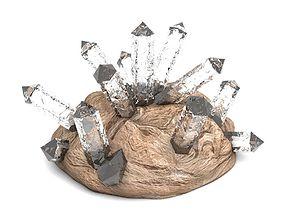 3D Crystals Gems
