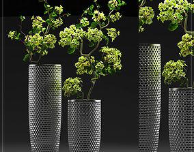 vase Flower Vase Set 3D model