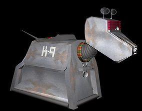 K9 Robotic Dog 3D Model