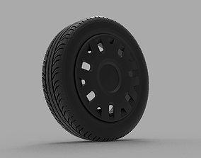Volkswagen Fox 3D printable model