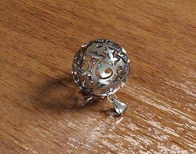 Ornamente Sphere Pendant 3d model Rhino3d ball