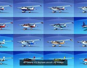 3D 42 Cessna 172 Skyhawk aircraft