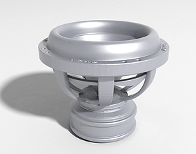 microphone subwoofer for 3D print
