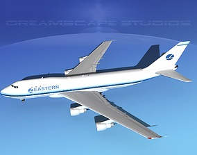 3D Boeing 747-100 Eastern Airlines 2