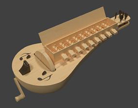 Hurdy gurdy 3D