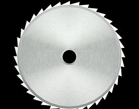 3D model steel circular saw blade