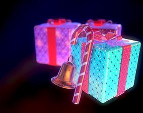 3D asset Christmas pack