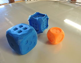 3D printable model Stylish Collection of Dice - D6