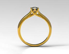 Lovely Engagement Ring 3D print model engagementring