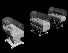 3D Premature baby incubator collection