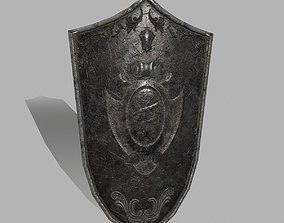 Shield 3D asset VR / AR ready sword