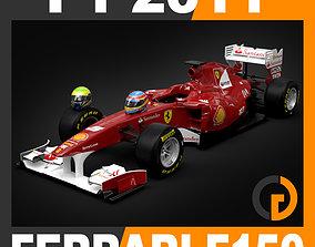 F1 2011 Ferrari F150 Scuderia 3D model