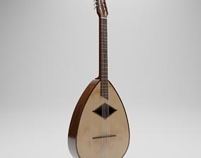 3D model model Guitar Mandola Mandoline instrument