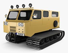 3D model Thiokol Spryte 1200 Snowcat 2011