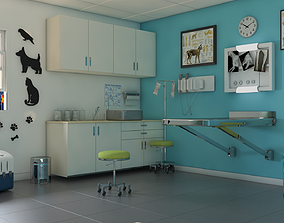 Veterinery 3D asset