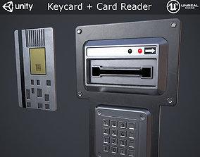 3D asset Keycard and Card Reader