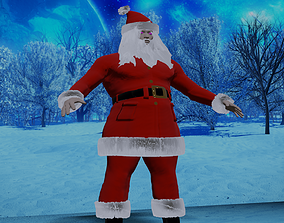 3D printable model Santa Clause