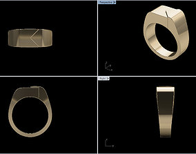 Signet Ring 1 3D printable model