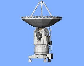 Japan Nobeyama Radio telescope 3D model