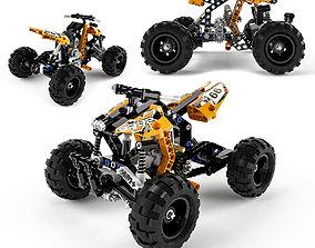 3D Lego Technic Quad Bike