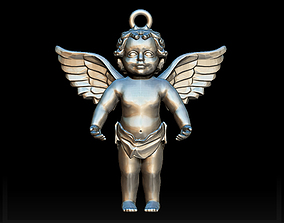 3D printable model holly Angel charm