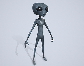 3D model PBR Alien Character
