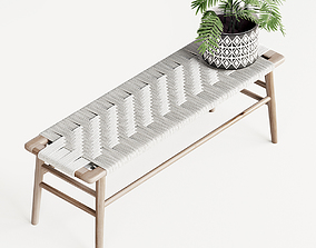 3D Woven Rope Bench