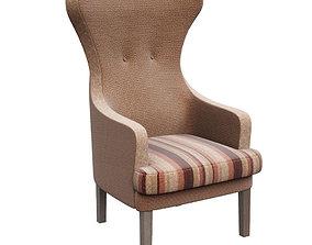 3D asset Chair Hilton