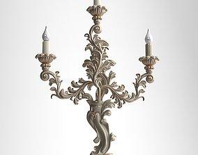 Candelabrum Sconce Light detailed 3D